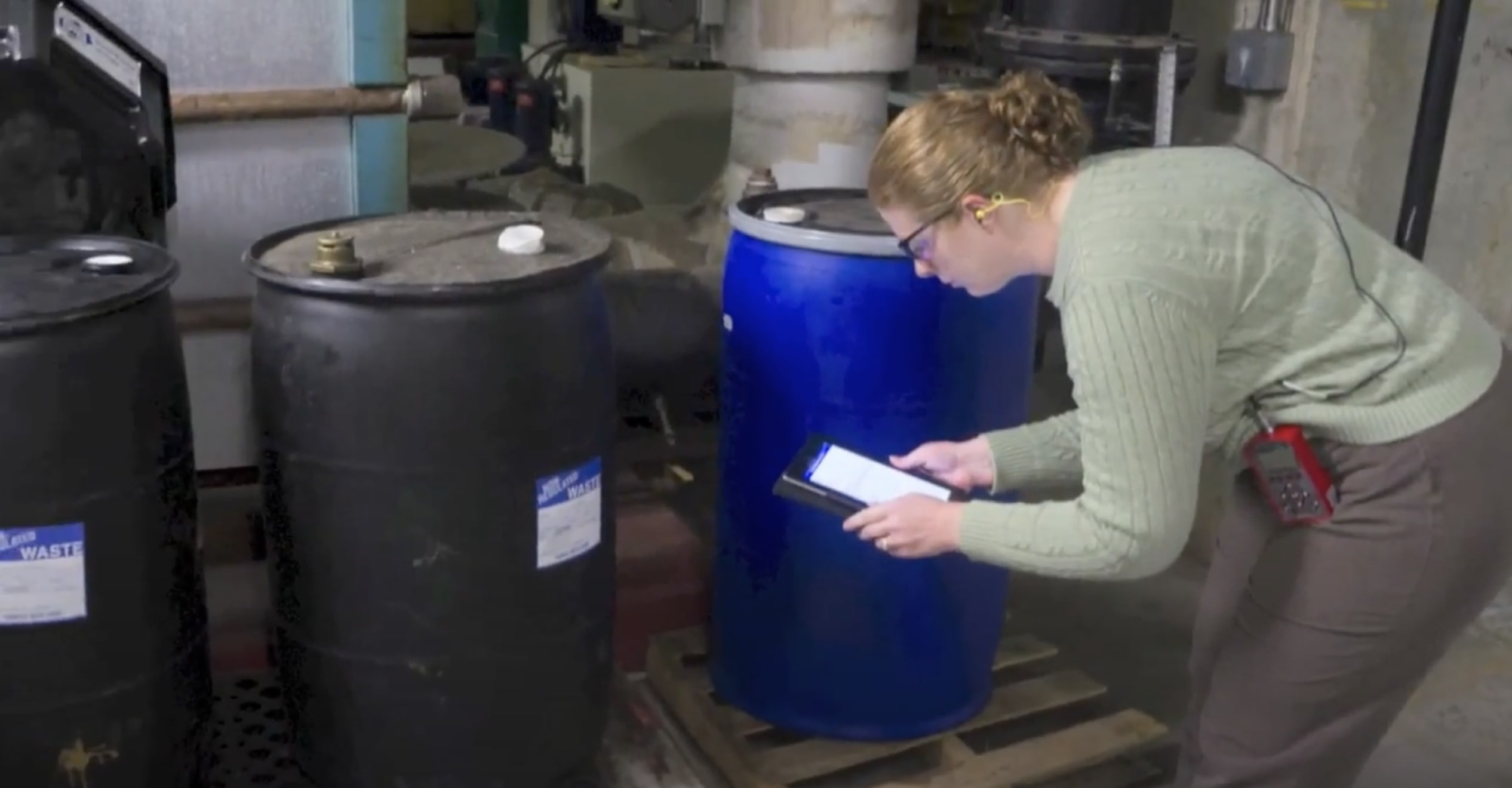 Chemical waste audit at Emory